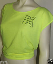 NEW! VICTORIA'S SECRET PINK OPEN BACK DOLMAN TEE L