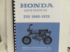 HONDA Z50 1968-1978 Shop Manual