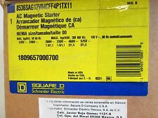 Square D Starter, NEW IN BOX, 8536SAG12V84CFF4P1TX11, Size 00