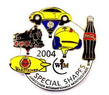WARSTEINER BALLON Pin / Pins - SPECIAL SHAPES 2004 mit VW & COCA COLA (3243)