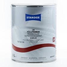 Standox 1K Füllprimer U3010  Grundierung hellgrau 1 Liter Säureprimer 02084872