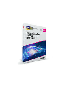 Bitdefender Total Security 2022 - 5 Device / 1-Year - CD