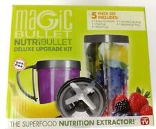 NEW Magic Bullet Nutribullet Deluxe Upgrade kit 5 piece New In the Box