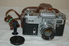 Kiev-4 (Type 3) Vintage 1974 Soviet Rangefinder Camera & Case. 7400209. UK Sale