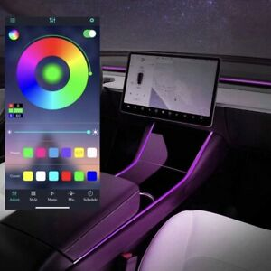 RGB Neon Light Tubes (LED) with App for Tesla Model 3 & Y