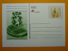 LOT 12186TIMBRES STAMP ENVELOPPE SPORT PORTUGAL SPORTING FOOTBALL ANNEE 1996