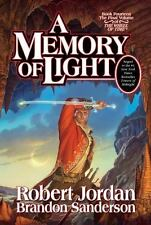 A Memory of Light The Wheel of Time Series #14 by Robert Jordan HC Free Shipping