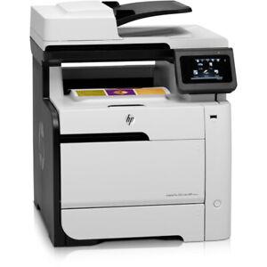 HP Laserjet 300 Color MFP M375nw A4 Printer WIRELESS Low Count Under20K WARRANTY