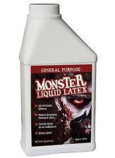 Monster Liquid Latex - 16oz Pint - Creates Monster / Zombie Skin and FX NEW