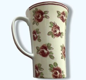 Laura Ashley Coffee Mugs Floral Roses Choice of 2 Different - Used VGC