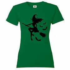 """Women's """"B'Witched"""" Wiccan goth Halloween magic supernatural design T Shirt"""