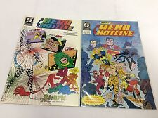 HERO HOTLINE #1,3 (DC COMICS/061594) COMIC BOOK SET LOT OF 2