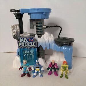 Imaginext DC Super Friends Mr. Freeze Headquarters Playset plus 4 figures