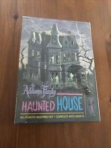 Rare FAO Schwarz The Addams Family Haunted House Model Kit 5001 MINT Sealed Box