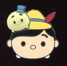 Tsum Tsum Booster Pinocchio & Jiminy Cricket Disney Pin 108280