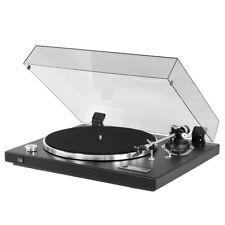 Dual CS 526 Halb-Automatik Plattenspieler Schwarz inkl Ortofon OM10 + Haube