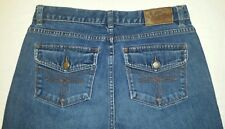 Lauren Ralph Lauren jeans size 6 flap bronze stitches medium wash