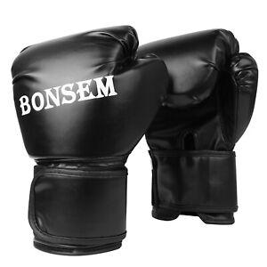 Men Women Leather Boxing Training Sparring kickboxing Gloves Punching Bag Mitts