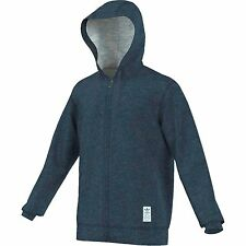 NEW MEN'S ADIDAS ORIGINALS PREMIUM ESSENTIALS FULL ZIP HOODIE ~SMALL  #S18544