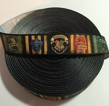 """7/8"""" Harry Potter Houses of Hogwarts Ribbon by the Yard (Usa Seller)"""