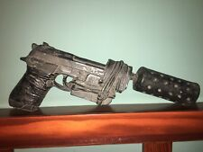 Firefly Starring Nathan Fillion  Prop: Gun With Silencer: From Captain's Qtrs