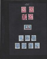 hungary 1926-29 & 1941-44 stamps page ref 17655