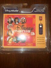 Disney Mania MixClip 3 WMA/MMC UNOPENED Vintage Digital Music Card