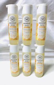 6 Pack The Honest Company Shampoo + Body Wash Sweet Orange Vanilla