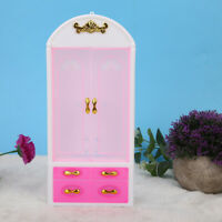 Dollhouse Miniature Furniture Collectible Wardrobe Play House Dream Closet #GD
