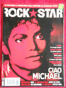 rivista ROCKSTAR 345/2009 Michael Jackson Moby Brian Jones Kasabian Placebo Nocd