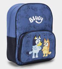 Bluey Navy 2 38cm Genuine Licensed Backpack Gift Back to School Christmas NS