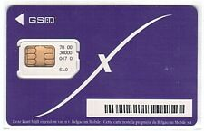 Belgique - SIM Card Proximus Belgacom 46 - 7800 - Only for Collection