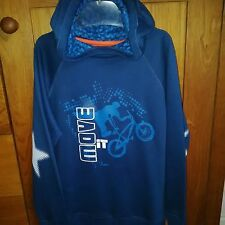 BNWTphister and philina boys summer hoodie with a bike on the front age 8 years.