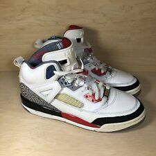 AIR JORDAN SPIZIKE MARS BLACKMON BLACK WHITE FIRE RED SIZE 7