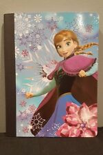 Disney Frozen Blue Anna Composition  NOTEBOOK 100 Wide Ruled Sheets School New