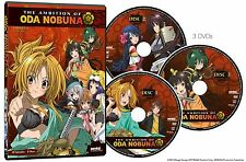 Ambition of Oda Nobuna Complete Collection Ep. 1-12 (3-Disc) Anime DVD R1