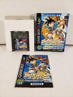 Cross Hunter Monster Hunter Nintendo GameBoy Color GBC Japan Import Complete CIB