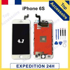 ECRAN IPHONE 6S BLANC VITRE TACTILE + LCD ORIGINAL RETINA SUR CHASSIS + OUTILS