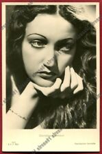 DOROTHY LAMOUR 15 ATTRICE ACTRESS ACTRICE CINEMA MOVIE - USA real photo 1938