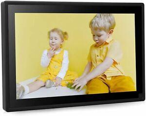 Dhwazz Digital Photo Frame, 10 Inch WiFi No Subscription Fee 16GB IPS HD Electro