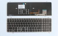 New FOR HP Envy M6-K M6-K000 M6-K100 US Keyboard WITH Frame Backlit 725450-001