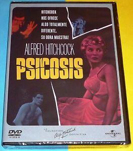 PSICOSIS / PSYCHO Alfred Hitchcock DVD R2 - Precintada