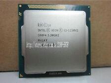 Free shipping Intel Xeon E3-1230 V2 3.3GHz SR0P4 8M Quad Core CPU Processor