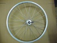 "26"" Rear DISC Silver Alloy Wheel Mountain Bike MTB Bicycle QR Double Wall add FW"