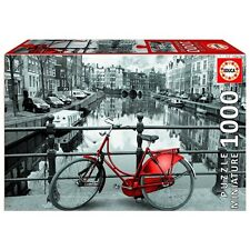 "PUZZLE LE CANAL, AMSTERDAM  1000 PIECES ""MINIATURE"" EDUCA 17116 NEUF"
