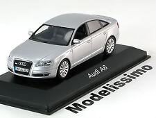 1:43 Minichamps Audi A6 Saloon 2004 silver