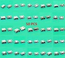 25 models lot 50 pcs Jack Micro USB Charging port for phone tablet mobile. set