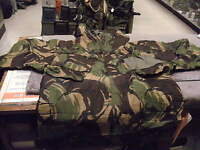 BRITISH SMOCK W/ HOOD PROTECTIVE SUIT JACKET Camo NATO Size 7080/9505
