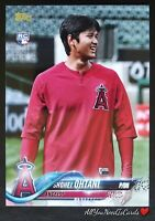 Shohei Ohtani 2018 Topps Update Series Variation Short-Print Rookie Card #US1