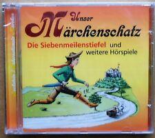 Unser Märchenschatz - Die Königskinder, Siebenmeilenstiefel u.a. - CD neu & OVP